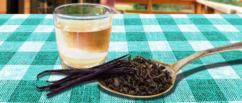 настойка на чае с ванилью