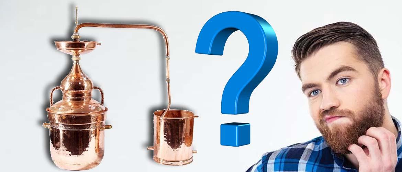 зачем медь в самогонном аппарате в самогоноварении