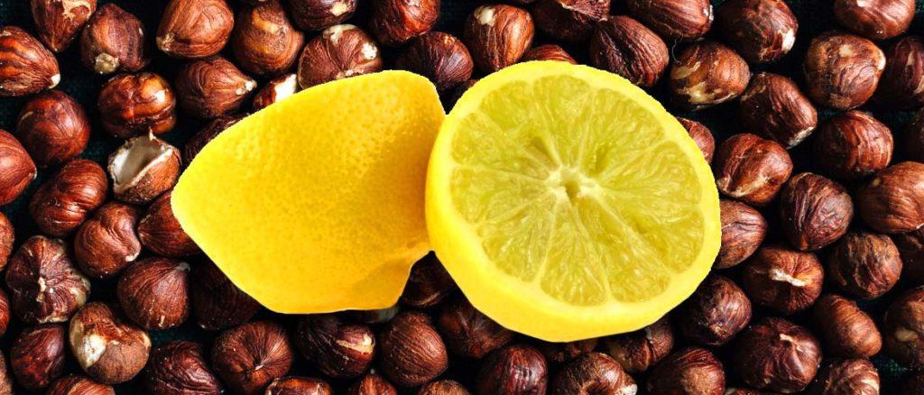 настойка на фундуке с лимоном